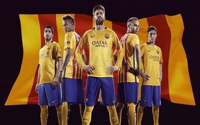 barcelona away kit 2015-2016